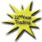 Celebrating our 22nd year of trading success